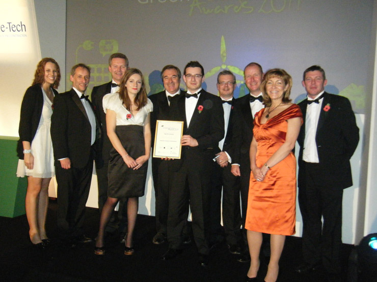 Highly Commended at the Green Gown Awards » NJSR news